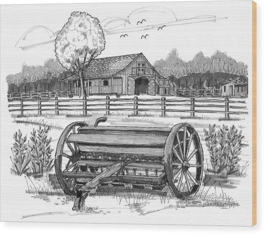 Hidden Hollow Farm 2 Wood Print
