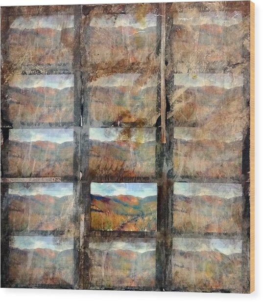 Hidden Valley Wood Print