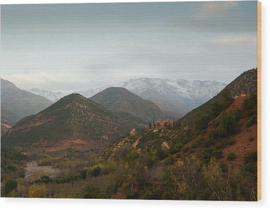 High Atlas Wood Print by Daniel Kocian
