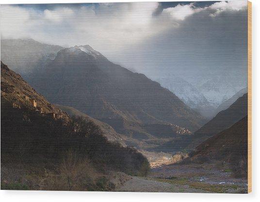 High Atlas Mountains Wood Print by Daniel Kocian
