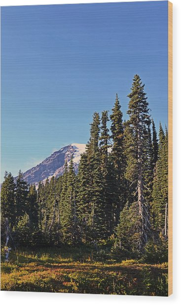 High Country Wood Print