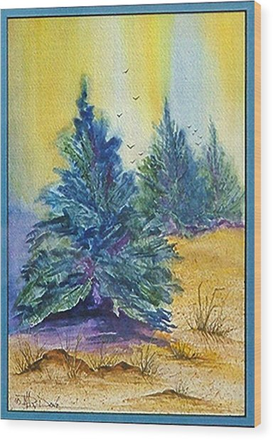 High Desert Spirit Wood Print
