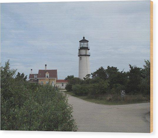 Highland Light Aka Cape Cod Light Wood Print