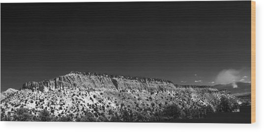Highway 502 To Los Alamos Nm Wood Print