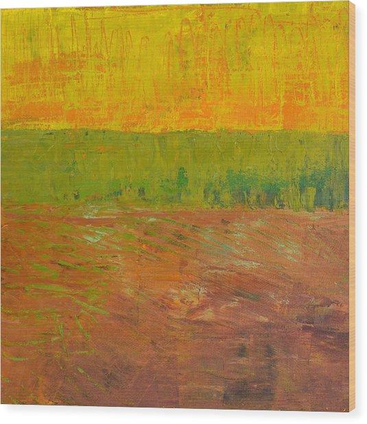 Highway Series - Soil Wood Print