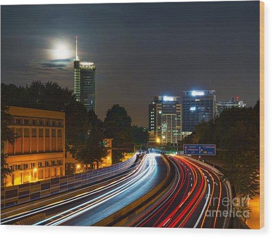 Highway To Essen Wood Print