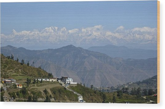 Himalayas II Wood Print