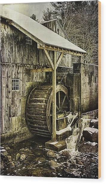 Historic Taylor Mill Wood Print