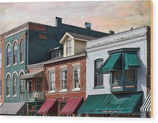 Historic Weston Wood Print