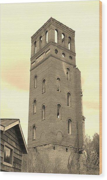 History Wood Print by Sarah E Kohara
