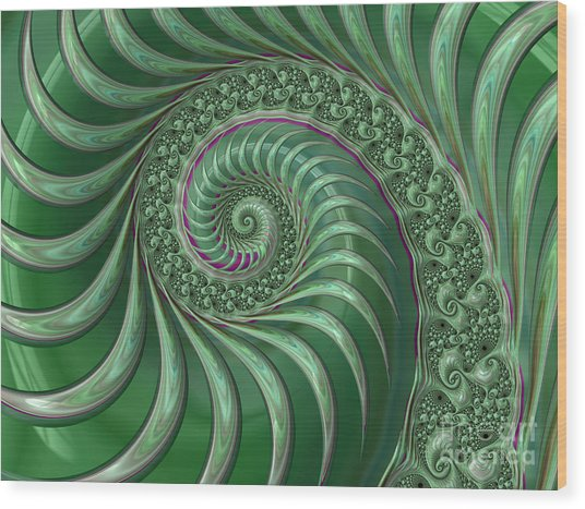 Hj Pg Wood Print
