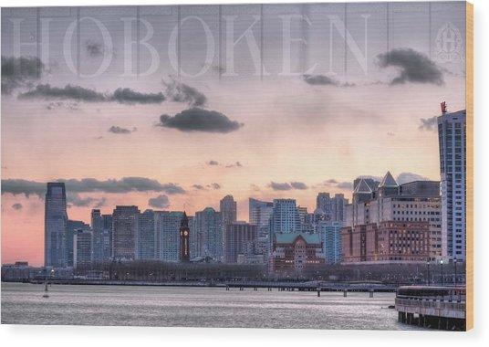 Hoboken  Wood Print by JC Findley