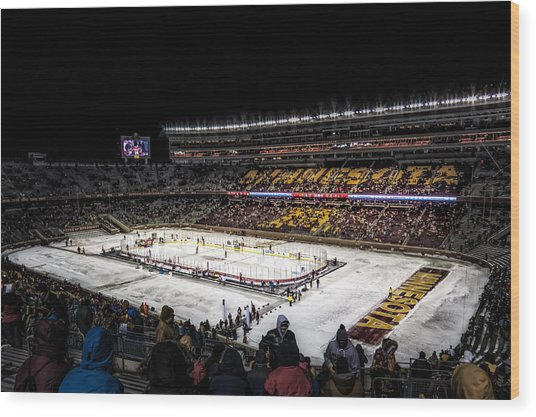 Hockey City Classic Wood Print