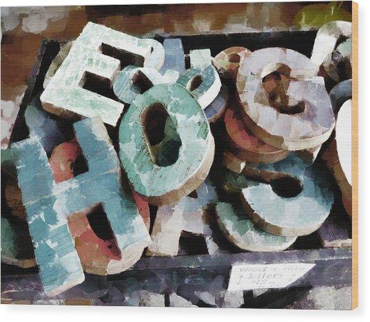 HOG Wood Print