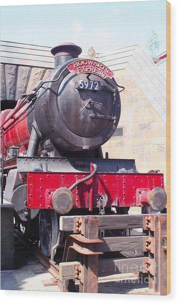 Hogwarts Express Color Wood Print