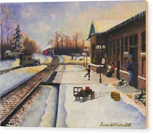 Holiday Depot 1932 Wood Print