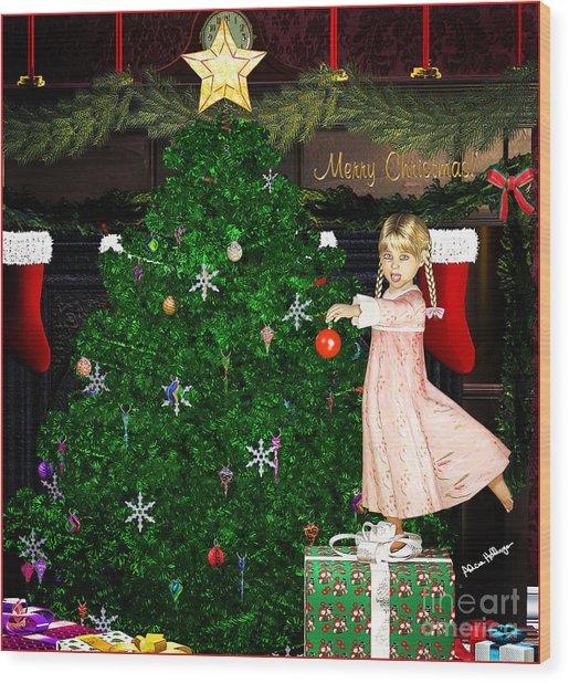 Holiday Dreams Wood Print