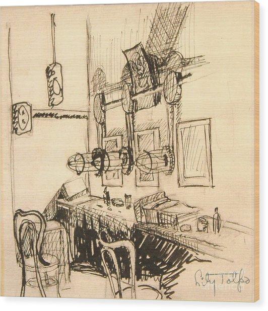 Hollywood Cowgirls' Dressing Room - 1939 Wood Print