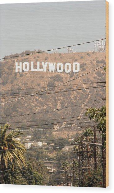 Hollywood Wood Print