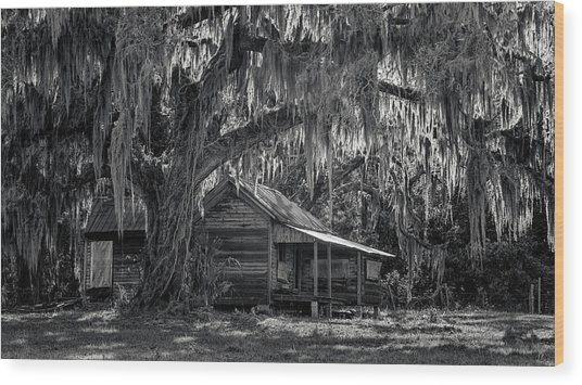Home Long Forgotten Wood Print