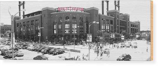Home Of The Cardinals Wood Print