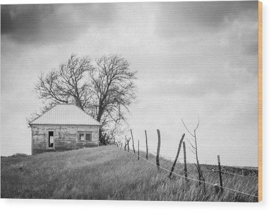 Homestead Hill  Wood Print