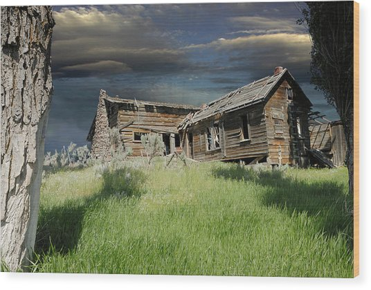 Homestead Spirits Wood Print