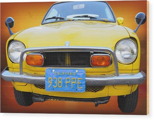 Honda Z600 Coupe I I Wood Print