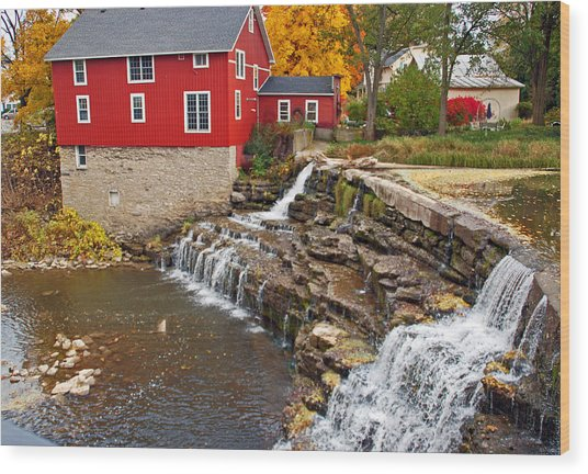 Honeoye Falls 1 Wood Print