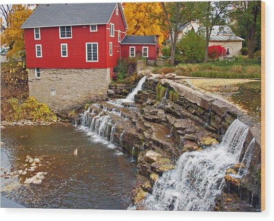 Honeoye Falls 1 Wood Print