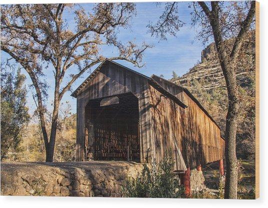 Honey Run Covered Bridge 1894 Wood Print