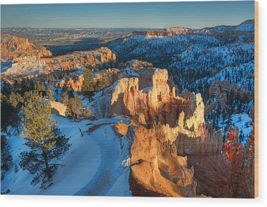 Hoodoo Heaven Wood Print