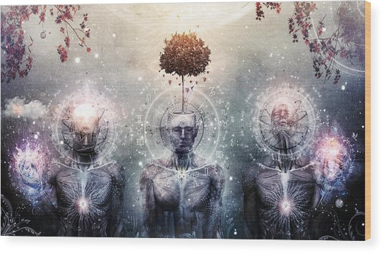 Hope For The Sound Awakening Wood Print by Cameron Gray