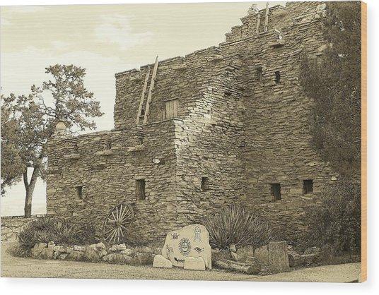 Hopi House Wood Print