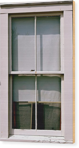 Hopper Was Here Wood Print