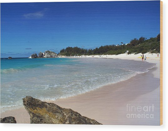 Horseshoe Bay Beach Wood Print