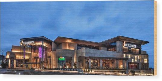 Horseshoe Casino Cincinnati Wood Print