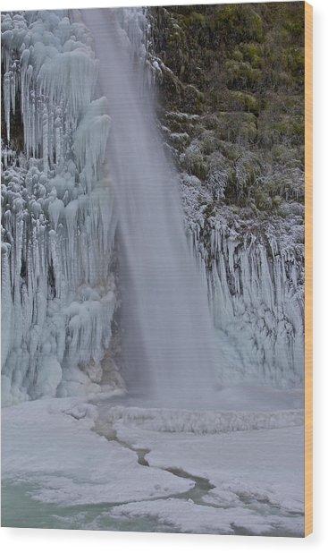 Horsetail Falls 120813 Cu B Wood Print