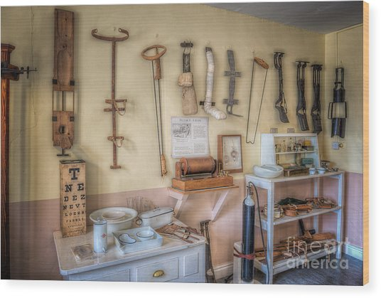 Hospital Museum Wood Print