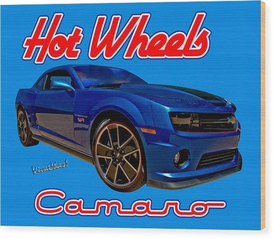 Hot Wheels Camaro Wood Print