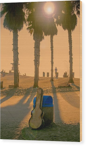 Hotel California Wood Print