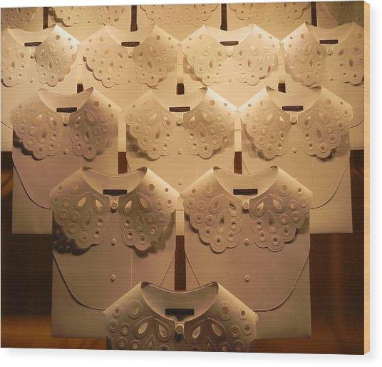 Louis Vuitton Window Display Wood Print
