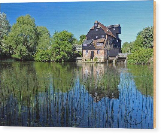 Houghton Mill Wood Print