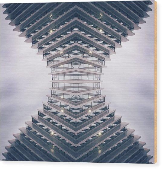 Hourglass Wood Print
