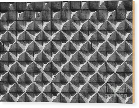 House Of Spikes 2 Wood Print