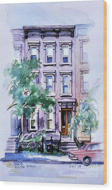 House On Tenth Street Wood Print
