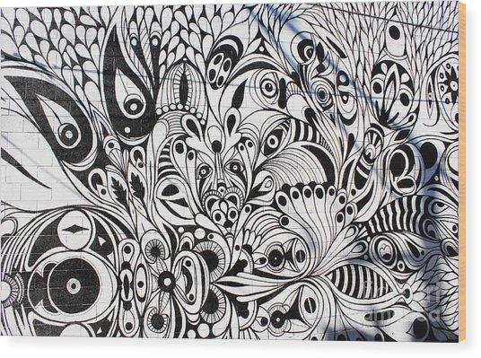 How Many Eyes Wood Print