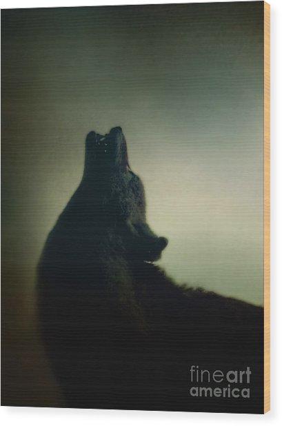 Howling Wood Print