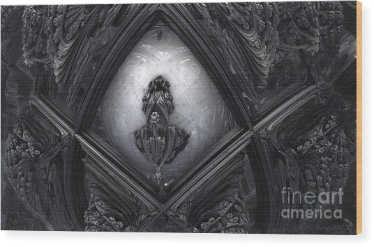 Hr Giger In Memorium Wood Print
