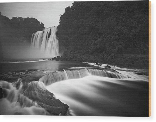 Huangguoshu Waterfalls Wood Print